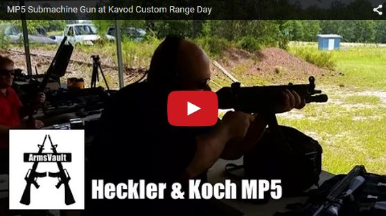 My First Time with the Heckler Koch MP5 Submachine Gun
