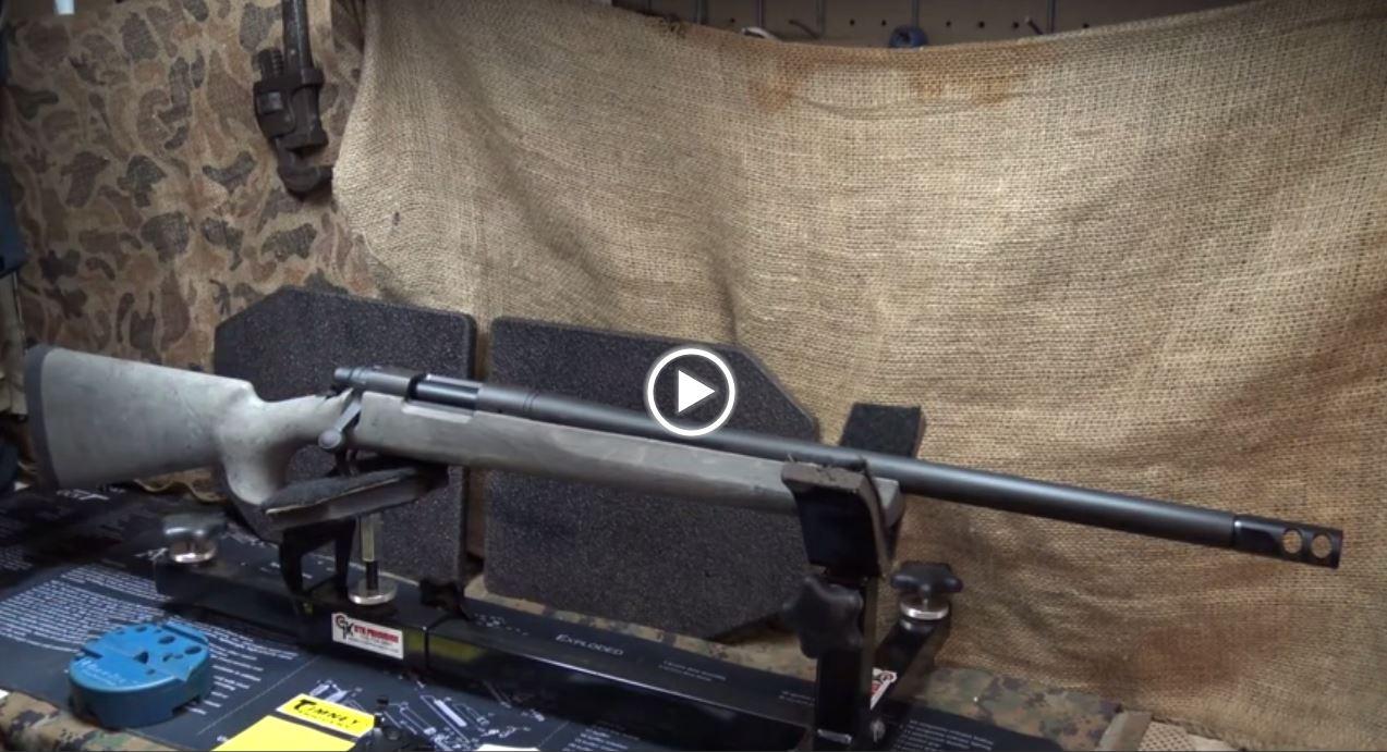 Remington 700 SPS Timney Trigger Installation