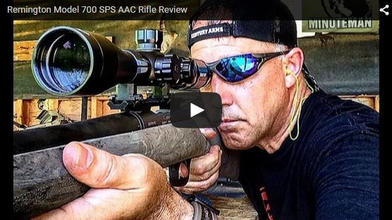 Remington Model 700 SPS AAC-SD Rifle Review