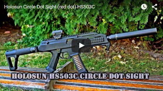 Holosun PARALOW HS503C Circle Dot Sight