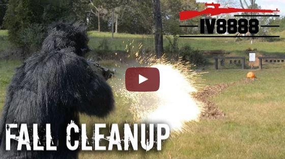 Benelli M3 and Dragon's Breath Lawn Maintenance