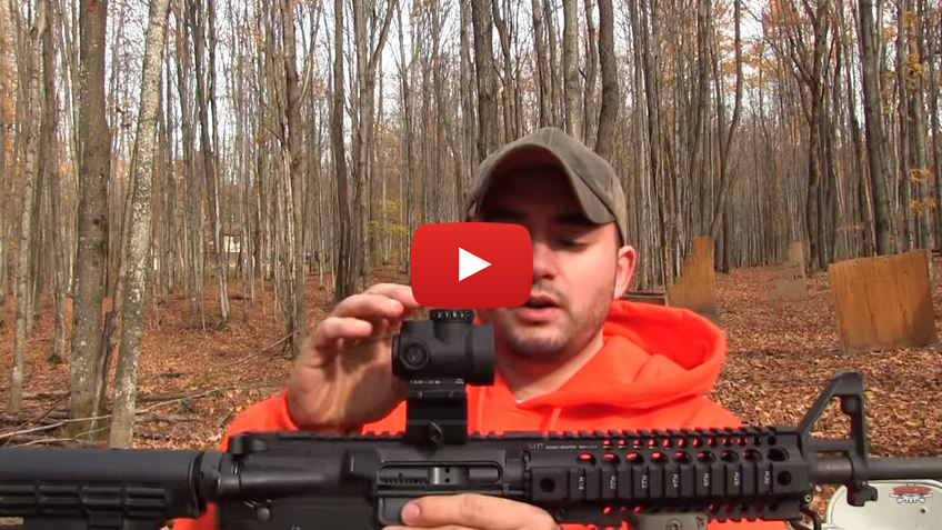 Trijicon MRO Miniature Rifle Optic Torture Test