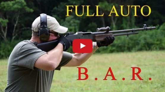 M1918 Browning Automatic Rifle - BAR