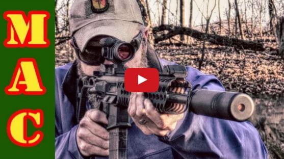 Sig Sauer MCX with Griffin Armament M4SD-K Suppressor