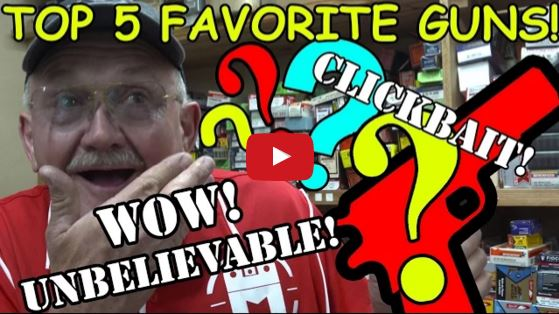 Jerry Miculeks Top 5 Favorite Guns