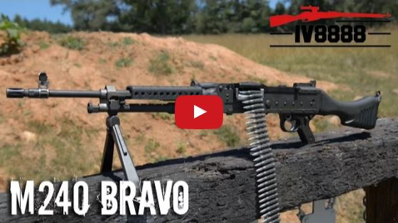 FN M240B Belt-Fed Machine Gun