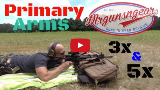 Primary Arms Prism Scopes with ACSS Reticle