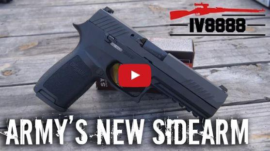 Sig P320 - US Army Sidearm