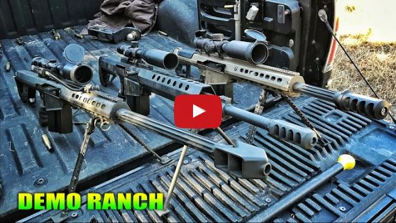 50 BMG Rifles Compared