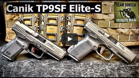 Canik TP9SF Elite vs TP9SF Elite-S