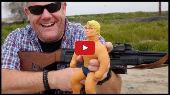 Stretch Armstrong Under Fire