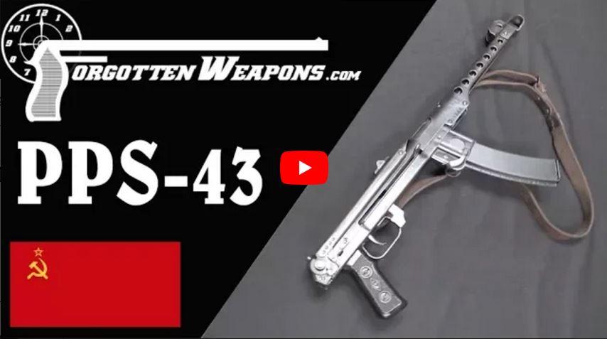 Russian PPS-43 Submachine Gun