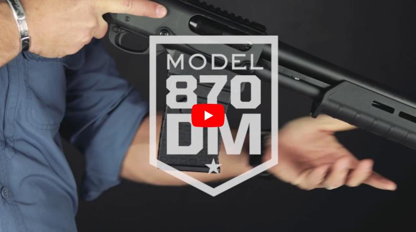 Remington Model 870 DM Shotgun