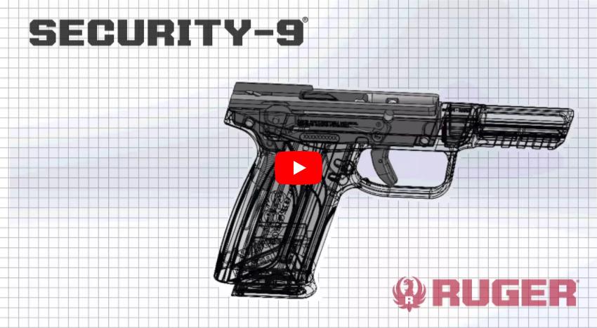 Ruger Security-9 9mm Pistol Features & Range Demo