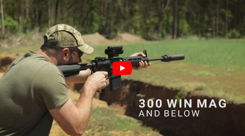 Advanced Armament Corp Ti-Raid 30 Full-Auto Fire