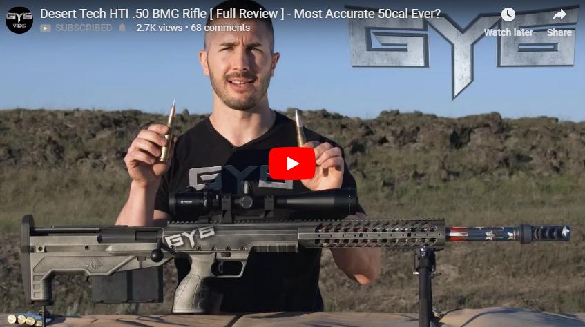 Desert Tech HTI 50 BMG Rifle Review