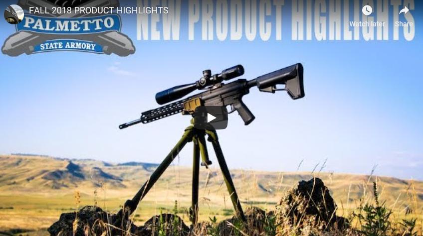 Palmetto State Armory AK Pistols & 6.5 Creedmoor Freedom Rifle