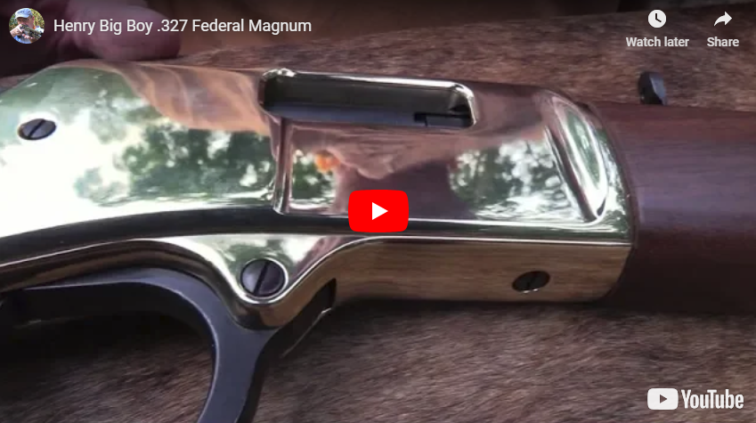 Henry Big Boy Classic Lever Action Rifle in 327 Federal Magnum