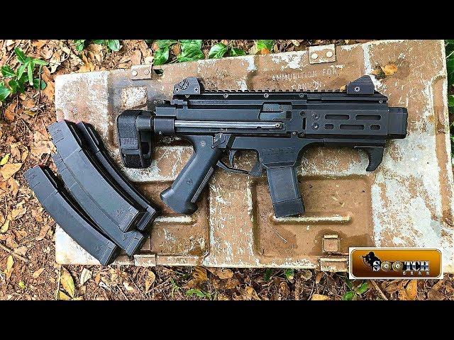 CZ Scorpion EVO 3 S2 Pistol Micro with SB Tactical Arm Brace