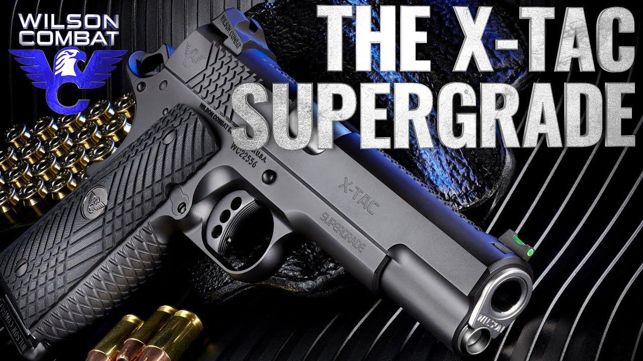 Wilson Combat X-TAC Supergrade Pistols Now Available