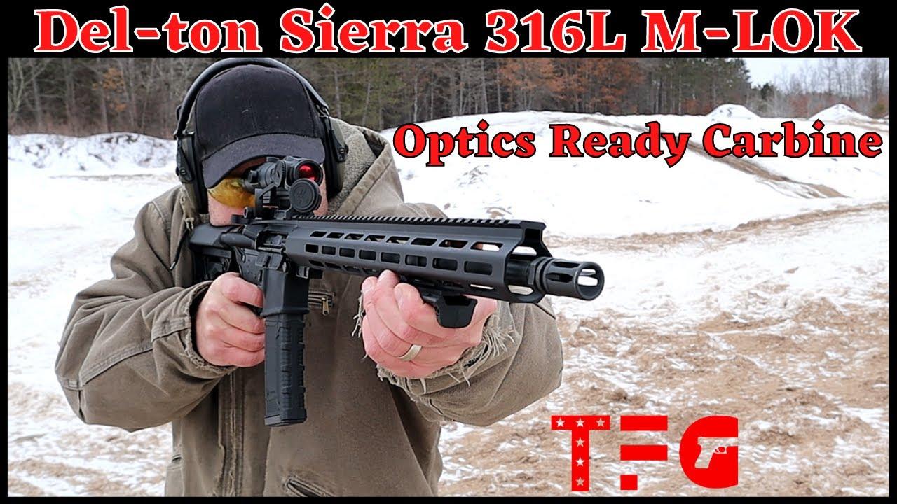 Del-Ton Sierra 316L Optics Ready Rifle