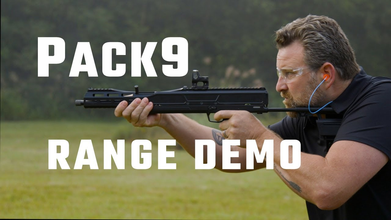 Trailblazer Firearms Pack9 Range Demonstration