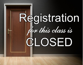 Registration for this class is closed