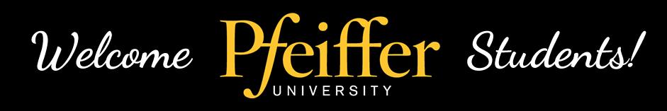 Welcome Pfeiffer University Students