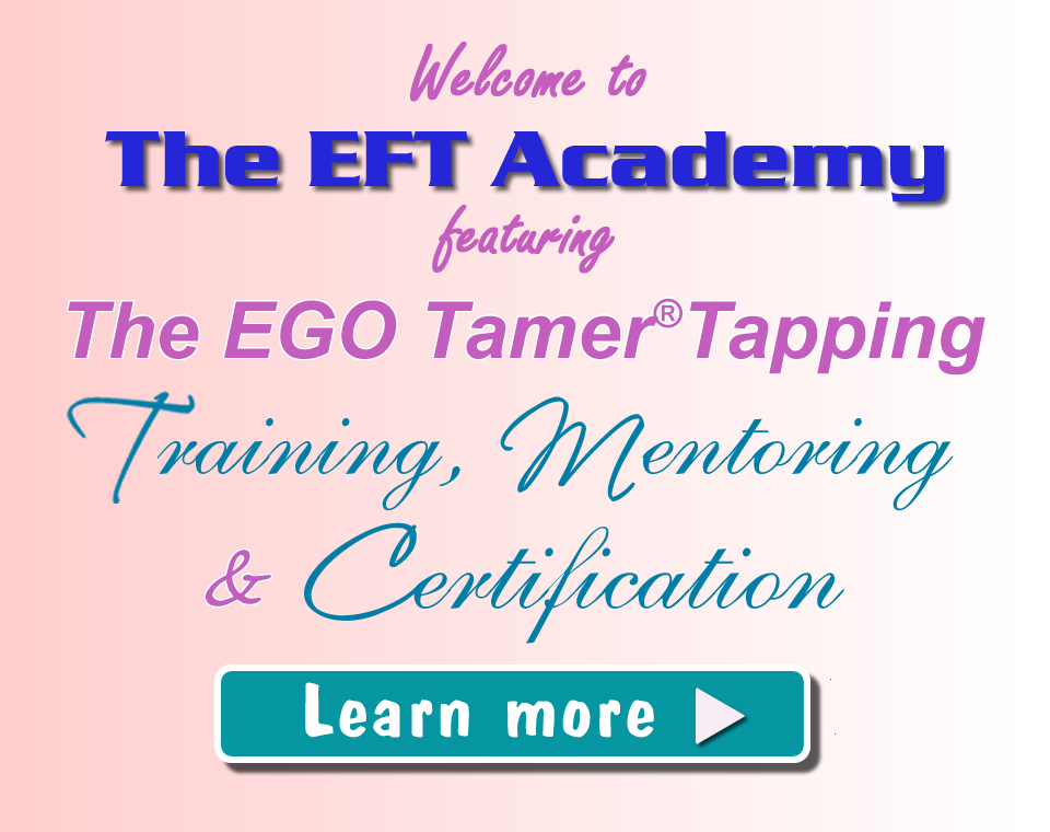TET Tapping Training, Mentoring & Certification from Jan Luther and The EFT Academy