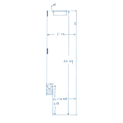28c Castle Quay Ground Floor Sketch