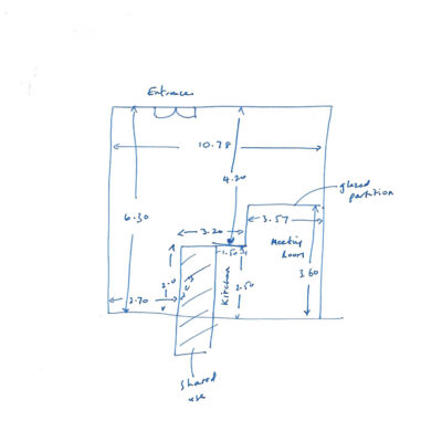 Martin & Co Floor Plan Sketch