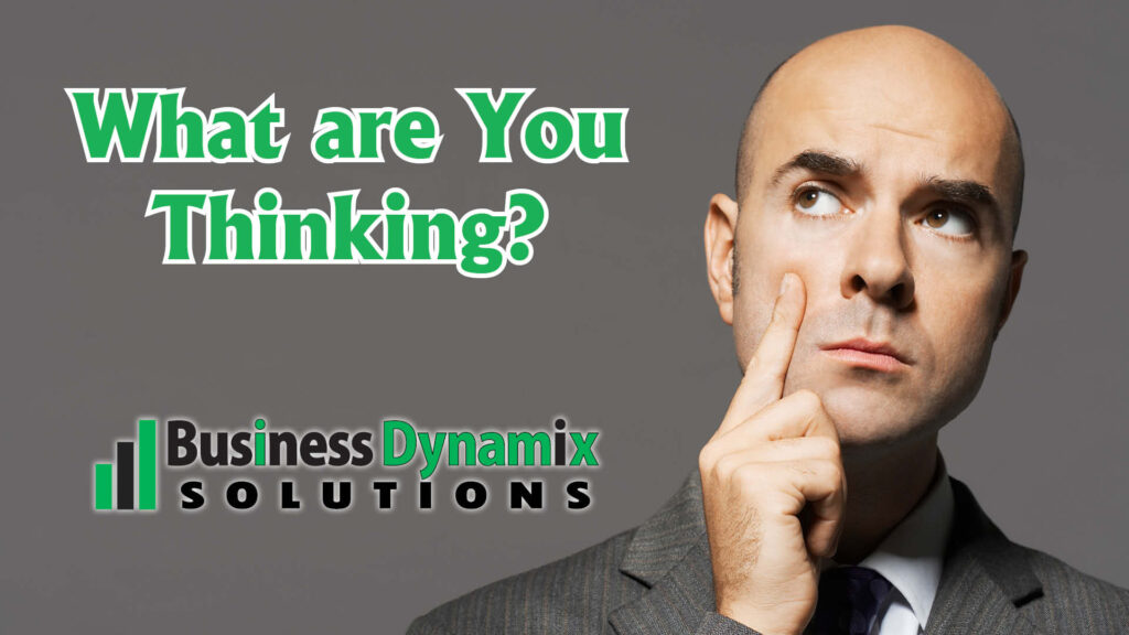 Re-think your thinking