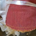 Rohi Red Aviation Curtain Fabric