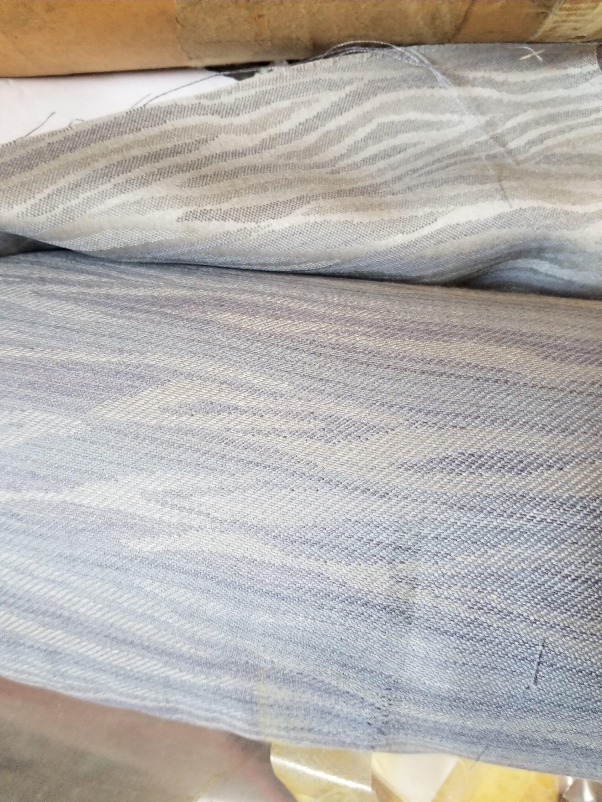 Blue Seat Fabric P/N:L25SR003684740 - NS