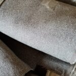 Gray Wool Aviation Fabric - P/N: 13BWJ3749