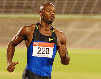 Asafa Powell pulls out of Stawell Gift with hamstring problem