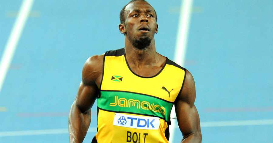 Usain Bolt leads four Jamaicans in World Championships final