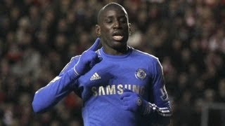Chelsea New Transfer Demba Ba warns Torres he'll be No. 1