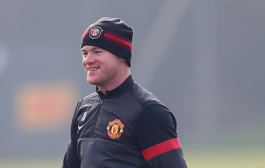 Vidic not with Manchester United touring team, but Wayne Rooney goes