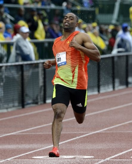 American sprinter Tyson Gay tested positive for banned substance