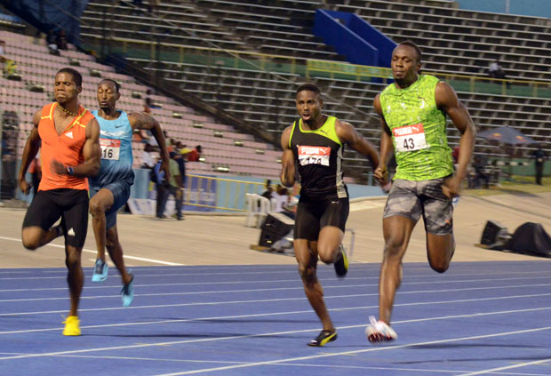Usain Bolt not worried about Tyson Gay's fast times