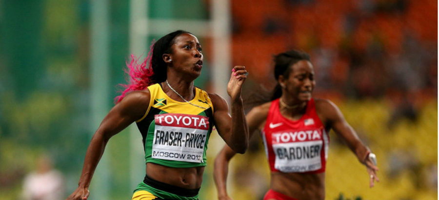 Fraser-Pryce, Farah complete world doubles: Determined Jamaica wins 4×400 silver