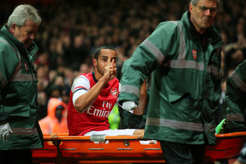Arsenal winger Theo Walcott out for six-months