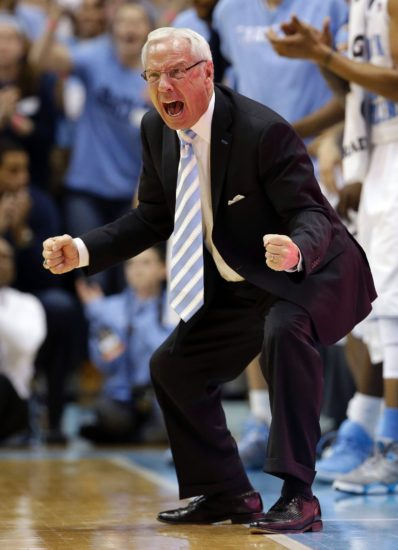 No. 14 North Carolina hold on for 63-61 win over Notre Dame