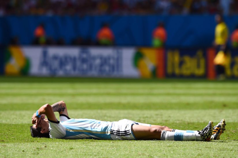 Argentina's Di Maria out of World Cup, reports say