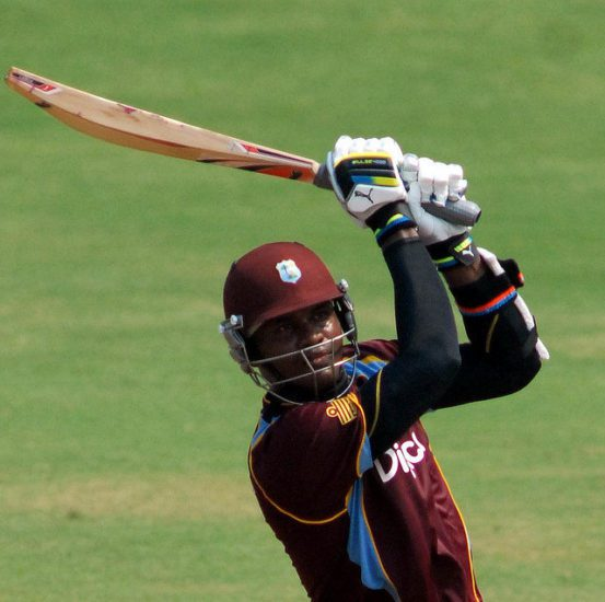 Samuels powers West Indies to 321 for 6 against India in ODI Opener