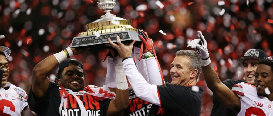 New Year's College Football Scores: Ohio State, Oregon Marches On