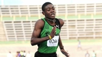 Christopher Taylor Runs 47.25 In 400 Heat: Champs 2015