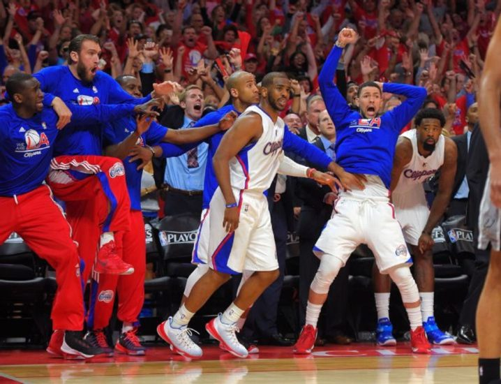 Paul Plays Through Injury, Clippers End Spurs Playoff Run