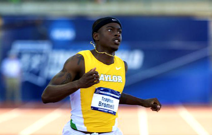Bromell Sets Collegiate Record of 9.84 At USATF Trials